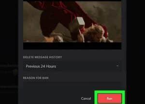 Ban username